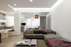 Azovskiy & Pahomova Architects Design a Modern Apartment Full of Light