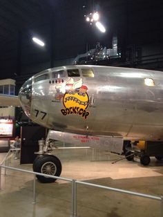 "B-29 ""Bockscar"" Air Force Museum Dayton, Ohio"