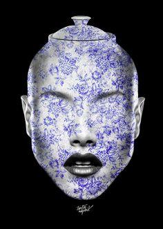FANTASMAGORIK® VEGETABLE FACE by obery nicolas, via Behance