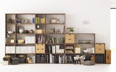 Stacking Shelves - Muji