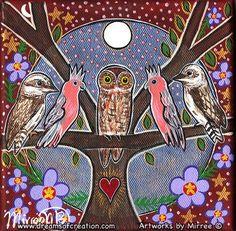 Aboriginal Artwork, Aboriginal Artists, Australian Wildflowers, Native Australians, Original Paintings For Sale, Divine Light, Picture Story, Birds 2, Bird Pictures