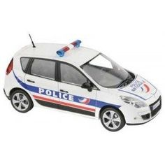 Solido diecast model cars and trucks are now available from uk diecast models buy online now!! Renault Scenic 2009 - Police