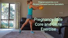 Pregnancy Exercise, A perfect core and glute pregnancy exercise that you can do during each trimester. For a full workout and program to follow at any stage during pregnancy click on the link and check out our Fit2BirthMum program