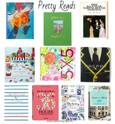 Pretty Reads // Preppy Coffee Table Books