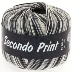 SECONDO print II 510-ercru/grey/anthracite