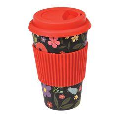 Take-away koffiebeker Midnight garden / Mug à emporter Midnight garden / Travel coffee cup Midnight garden