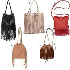 Le sac à franges : indispensable de l'été !