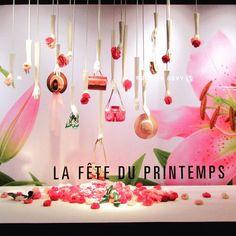 """PRINTEMPS, Paris, France, """"La fête du Printemps"""", photo by Els Den Dekker, pinned by Ton van der Veer"""
