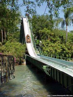 Stanley Falls @ Busch Gardens Tampa in Florida