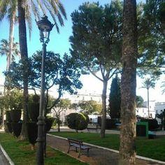 Plaza de Isaac peral, el puerto de santa maría Cádiz, Spain
