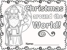 FREE Christmas Around the World NO PREP activities.
