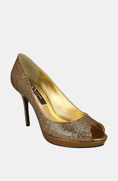 Nina  Faith  Peep Toe Pump (Online Exclusive) available at  Nordstrom Peep f159e0cae374