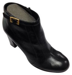 Chie Mihara Stylish Leather Sz 7.5 (38.5) BLACK Boots. Get the must-have boots of this season! These Chie Mihara Stylish Leather Sz 7.5 (38.5) BLACK Boots are a top 10 member favorite on Tradesy. Save on yours before they're sold out!