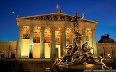 Parliament building of Austria  #Europe #Austria