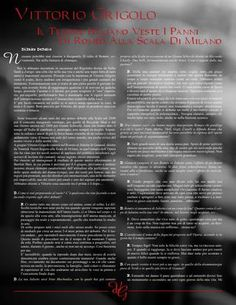 Vittorio Grigolo Article in Italian Amici Journal