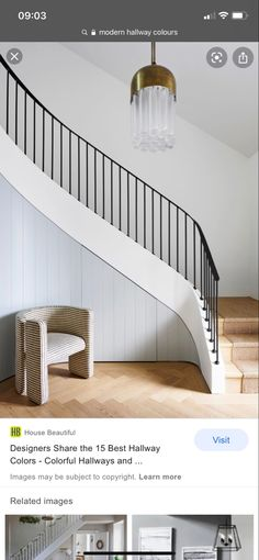 Stairs, Beautiful, Home Decor, Stairway, Decoration Home, Room Decor, Staircases, Home Interior Design, Ladders