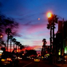 LA sunset/ Seen many of these and I do miss them dearly!!!