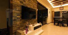 Rainscreen Cladding, Stone Cladding, Wall Cladding, Hanging Tv On Wall, Wall Tv, Corner Wall, Armoire, Stone Veneer Panels, Modern Tv Wall Units
