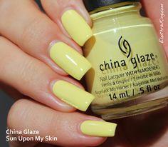 China Glaze Sun Upon My Skin