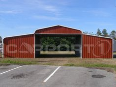 Metal barn kits are something that is offered but often customers choose to have their barn installed, especially since installation is free as long as your site is level and there are no obstructions.