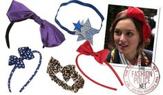 FASHION TRENDS: BLAIR WALDORF STYLE BOW HEADBANDS (AND ONE STAR ONE) AT TOPSHOP