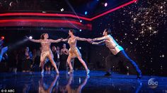 Mixed reviews: The dance got mixed reviews from the judges