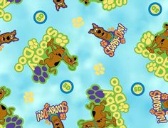 Licensed Fleece Fabric-Scooby & Character Fabric at Joann.com