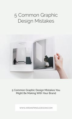 5 Common Graphic Design Mistakes You Might Be Making With Your Brand – Design Successful Business Tips, Creative Business, Collateral Design, Branding Design, Blog Design, Web Design, Simple Website Design, Creative Advertising, Grafik Design