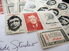 Vintage unused stamps for order