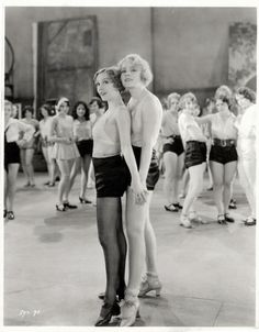 Broadway Melody (1929)_Bessie Love and Anita Page with chorus chirls, rear_1_t50