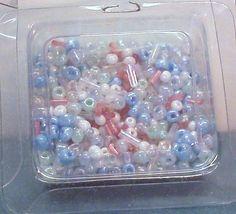 Pastel Seed Beads Destash by terririchard on Etsy, $1.00