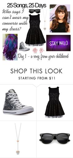 """Day 1 - La La Land"" by ballerinahippie on Polyvore featuring Converse, Disney and Irene Neuwirth"