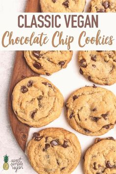 #Easy #chocolate #dessert #recipes #chocolate #vegan Classic Vegan Chocolate Chip Cookiesbrp classfirstletterOur website has been carefully designed for you  Scroll down for new different chip competent TopicpIt is one of the best quality figures that can be presented with this vivid and remarkable icon easy chocolate dessert recipesblockquoteThe photo named Classic Vegan Chocolate Chip Cookies is one of the Most seductively photos on our plate The width of 600 and height 900 of this image… Chocolate Chip Cookies Rezept, Perfect Chocolate Chip Cookies, Chocolate Chip Cookie Dough, Chocolate Desserts, Cookies Vegan, Oreo Cheesecake, Cheesecake Recipes, Hot Fudge, Cookie Recipes