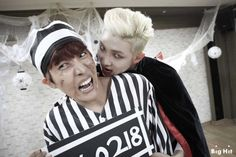J-Hope & Rap Monster - Halloween 2014