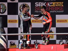 #NEWS: #Aprilia Dominates at Jerex De La Frontera in the 10th round of the world SBK championship!! It's a double one two for the Italian Bikers on the spanish track! Marco Melandri wins both races in front of team mate Guntoli. #DusejaMoto #Bikes #SBK #Motorcycles