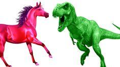 Learn Colors | Horse Vs Dinosaur | Learning Farm Animals Names For Children | Dinosaur Cartoons https://youtu.be/mO1VshjMF9E