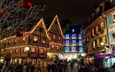 M A G I A   #christmas #france #colmar #alsace #trip #travel #traveler #tourist #enjoy #beautiful #awsome #wanderlust #aroundtheworld #amazing #lights #fly #enjoy #merrychristmas #wonderful #architecture #holidays #vacation #happy