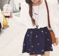 Cute school outfit