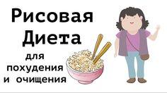 Рисовая диета для похудения и для очищения. На 3 дня и на 7 дней