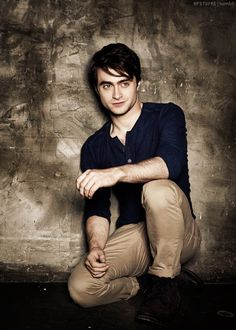 Love love love this picture of Dan Radcliffe!