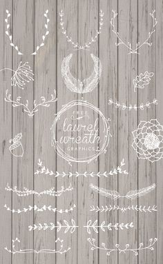 Free Laurel Wreath Graphics - Designs By Miss Mandee