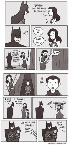 Son of Batman in a Nutshell. Next I could see Batman yelling for Alfred and maybe Nightwing as well?  XD  #Batman #Son of Batman