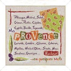 La Provence en quelques mots - Lilipoints
