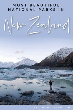Find out which of New Zealand's National Parks deserve the title of most beautiful. Plus, we give you the low down on what to do and see in the best National Parks in New Zealand! Travel Advice, Travel Guides, Travel Tips, Travel Plan, Places To Travel, Travel Destinations, Pacific Destinations, Amazing Destinations, New Zealand Travel Guide