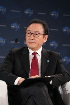 WPC 2012, Cannes - Il Sakong, Chairman of the Institute for Global Economics, former Finance Minister of Korea