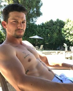 Daren Kagasoff, Pool Days, The Fam, Tattoo You, American Actors, Fish Tattoos, Instagram