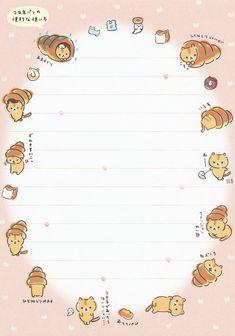San-X Corocoro Coronya Letter Set (# Paper Scrapbook, Scrapbook Journal, Kawaii Stationery, Stationery Paper, Memo Template, Templates, Memo Notepad, Sanrio Wallpaper, Cute Notes