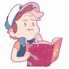 So cute Gravity Falls Mabel Pines, Dipper Pines, Desenhos Gravity Falls, Gavity Falls, Mabill, Bill Cipher, Gravity Falls Art, Reverse Falls, Billdip