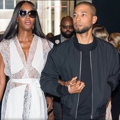 Awww! Our gentleman always 😍. #mcm #mce  #HoodByAir show: @NaomiCampbell and @JussieSmollett. #NYFW - #FashionWeek Sunday, 11 September 2016. * * * #JussieSmollett #handsome #wellgroomed #beard #dimples #unique #personality #RARE  #charisma #passion #love #heart #different #selfless #Empire #humble #gentleman #LotsofLoveforJussie #NYCFashion #NewYorkFashionWeek #NaomiCampbell #Model #Fashion #NYC #NewYork