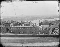 Ruins of Arsenal, Richmond, Virginia  Photographer: Brady, Mathew